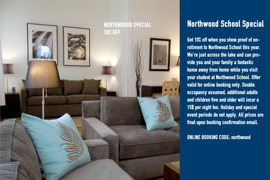 NorthWood School – Lake Placid Hotel Special